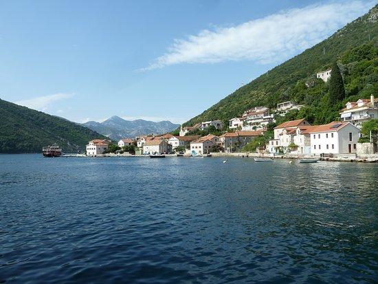 Kamenari, Montenegro: view from ferry