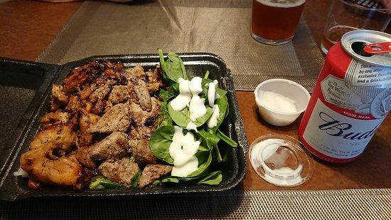 Steak Shack: ステーキとチキンのコンボ