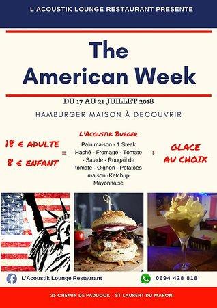 Saint-Laurent-du-Maroni, Guyana Francese: Venez déguster notre hamburger fait maison, et une délicieuse glace.