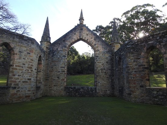 Port Arthur, Australia: The sandstone buildings are amazing.
