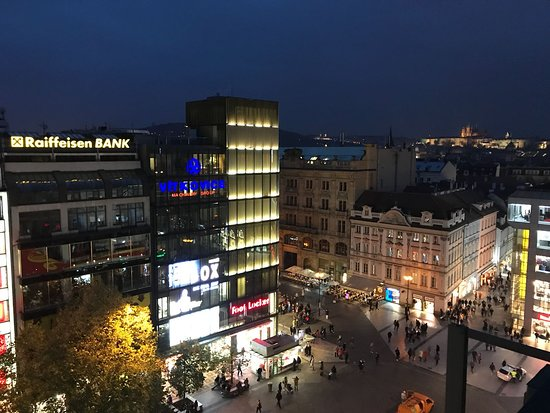 Wenceslas Square Terraces-bild