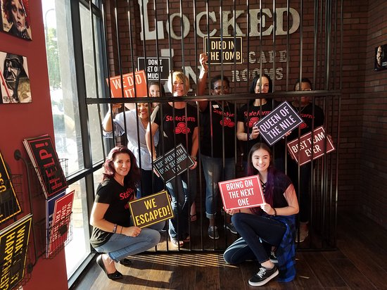 Locked In Escape Room