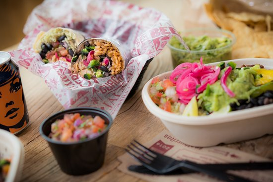 Nottinghamshire, UK: Our range of burritos, naked burrito bowls and tacos can be fully customised to suit your tastes