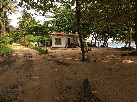 Porto Alegre, Santo Tomé y Príncipe: Bungalow Eco Lodge Jalé