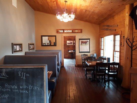 Rothesay, Canada: restaurant area