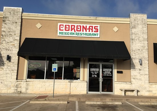 Coronas Mexican Restaurant: Restaurant Exterior and Entrance