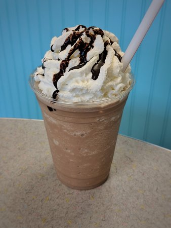Myerstown, PA: Frappes now made with espresso and available in decaf.