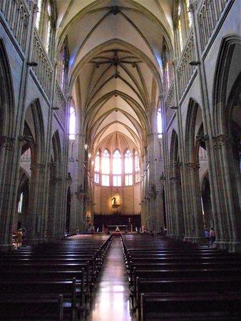 Buen Pastor Cathedral : Interior nave principal