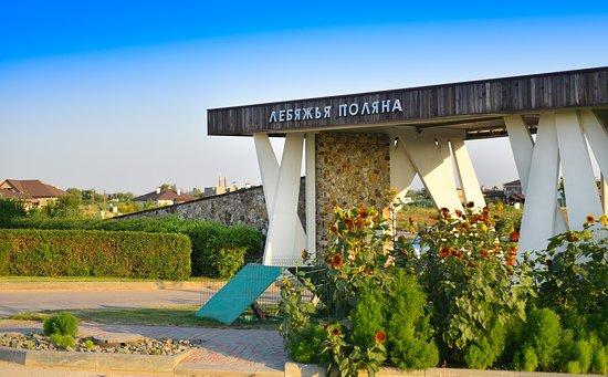 Lebyazhya Polyana, Rosja: Въезд на территорию