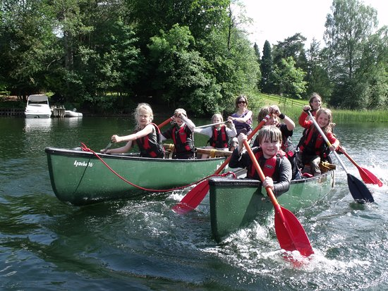 Kendal, UK: Family Fun Canoeing Adventures