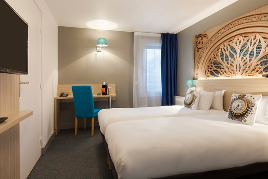 Longueau, France : TWIN Room