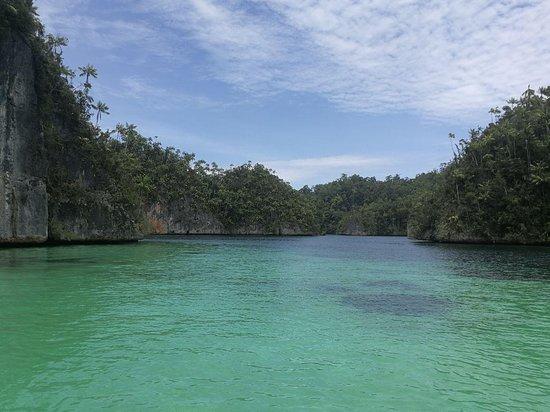 Kaimana, Indonesien: Triton bay