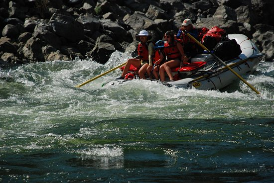 Lewiston, Αϊντάχο: Salmon River whitewater, Salmon River Canyons.  Hells Canyon Raft
