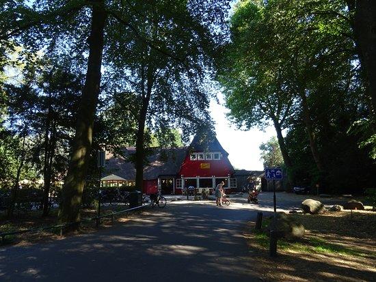 Museum Oud Amelisweerd: theehuis uit 1921 op Amelisweerd-Rhijnauwen