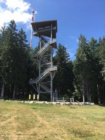 Meymac, Frankrijk: Tour Panoramique du Mont Bessou gives a fabulous view.