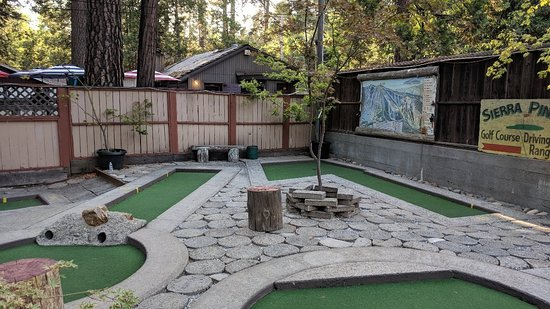 Twain Harte Miniature Golf