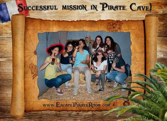 Celebrate The Successful Pirate Mission Picture Of Pirate Cave