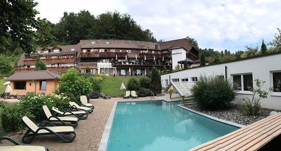 Hotel Kaeppelehof: Hotel mit Ausssenpool