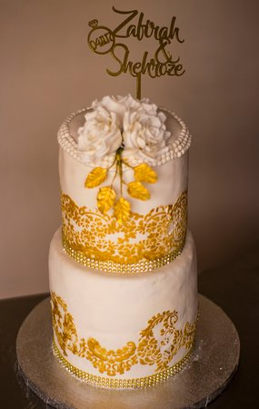 Vacoas: Wedding Cakes realised by the Team of Atelier De LaPatisserie et Boulangerie