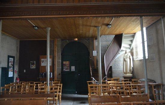 Lanildut, Frankrike: interno della chiesa