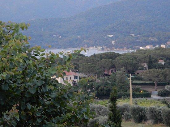 Magazzini, Italy: Il golfo dalla terrazza della camera