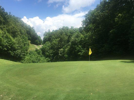 Whittier, Carolina del Norte: Hole 12 Green
