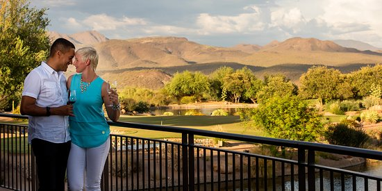 Rio Verde, AZ: Gorgeous views make for a true one of a kind dining experience.