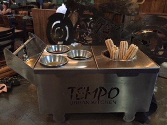 Churro cart - Picture of Tempo Urban
