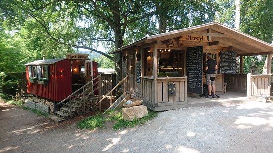 Ilsenburg, Almanya: Kiosk plus Bauwagen