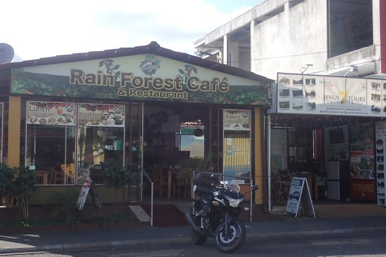 Rain Forest Cafe and Restaurant: Outside