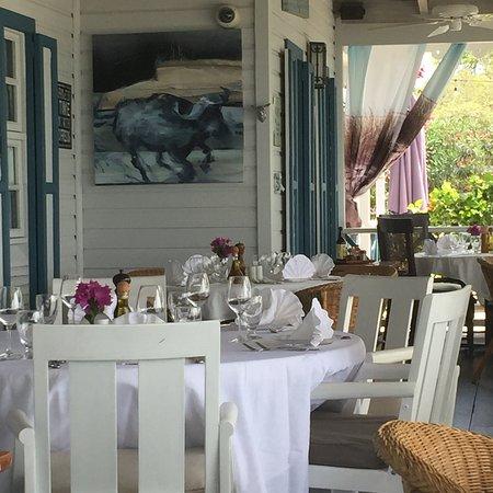 Saint George, Antigua: Dining Sunday Lunch
