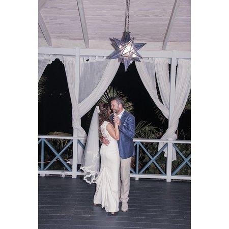 Saint George, Antigua: A wonderful wedding couple