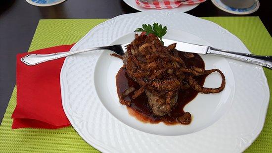 Roemerberg, Jerman: Hervorragendes Steak