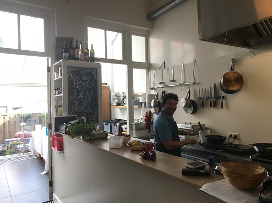 Zaltbommel, The Netherlands: The open kitchen