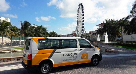 Cancun Airport Transportation La Isla Ping Village