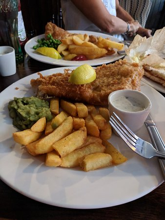 The Silver Cross: Fish and chips
