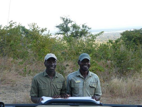 Lower Zambezi National Park, Zambia: Our guides