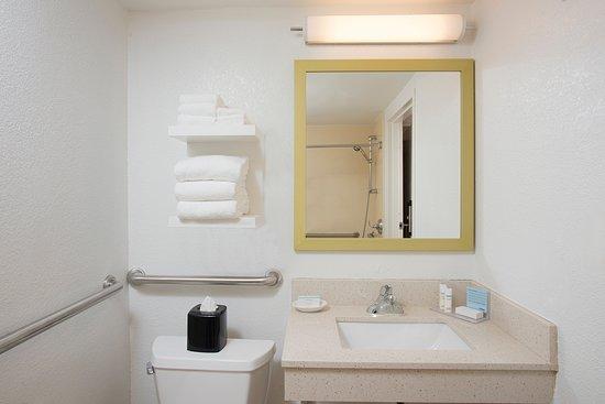 Hampton Inn Hilton Head: Handicap accessible bathroom
