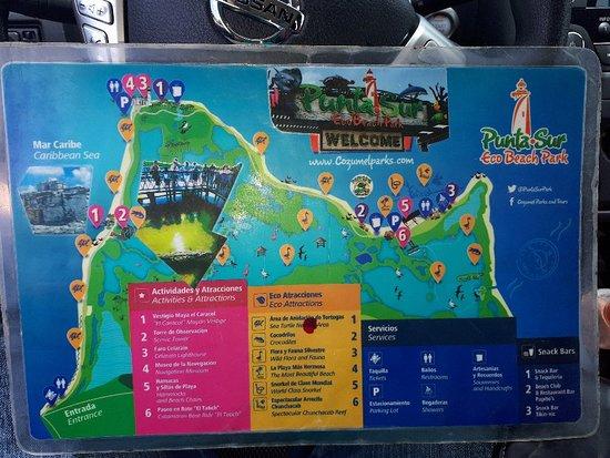 Punta Sur Eco Beach Park: 20180712_130241_large.jpg