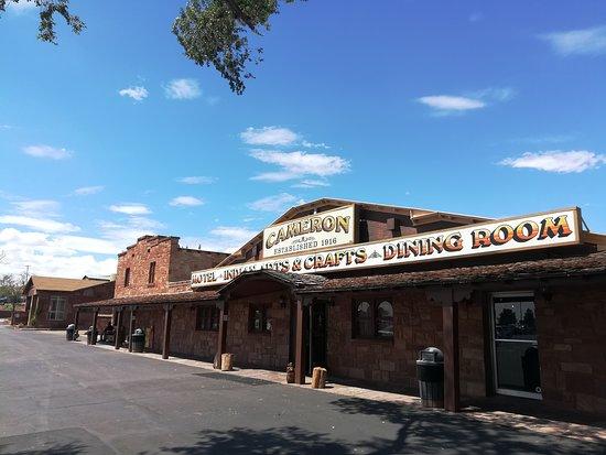 Cameron, AZ: Blick auf den Trading Post