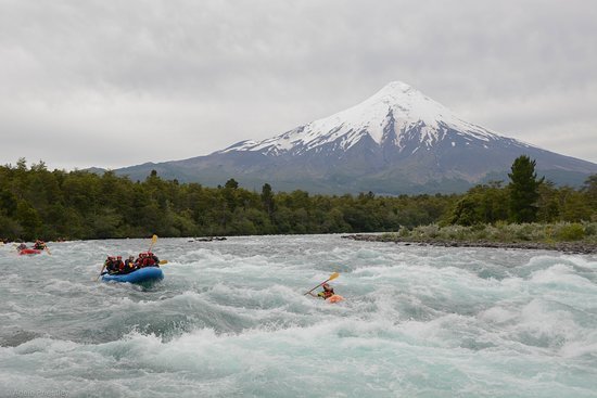 Petrohue, Cile: Rafting en el Rio Petrohué