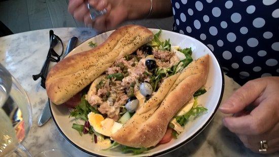 Tuna Salad Picture Of Pizza Express Preston Tripadvisor