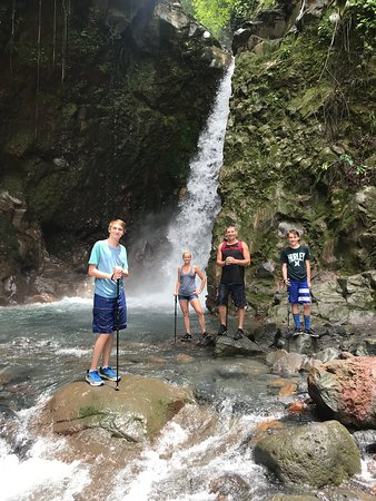 Sensoria Land of Senses: another waterfall swim