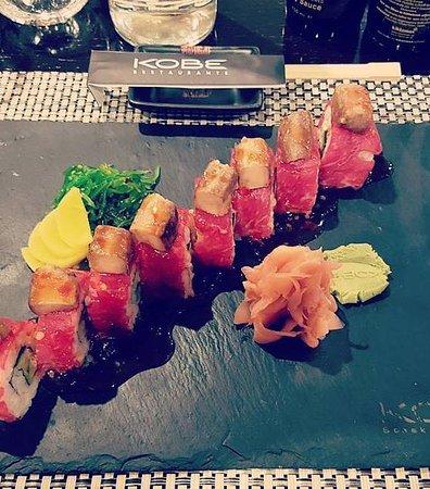 KOBE Steak Grill Sushi Restaurant Václavské nám.: Kobe Special Roll
