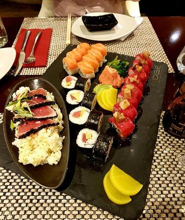 KOBE Steak Grill Sushi Restaurant Václavské nám.: Best Sushi ever !!!