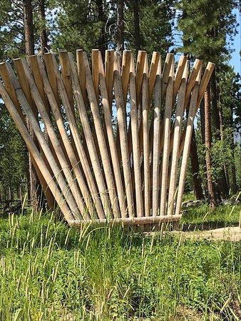 Blackfoot Pathways:Sculpture in the Wild: Stringer (Casey Schachner)