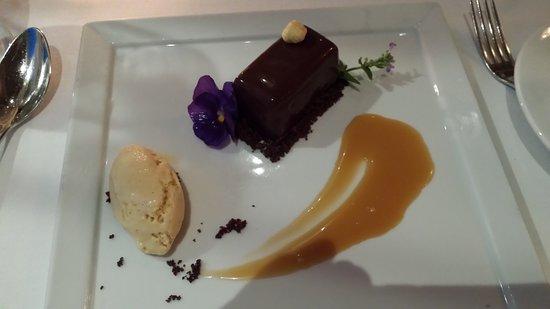 White Post, VA: Chocolate tart