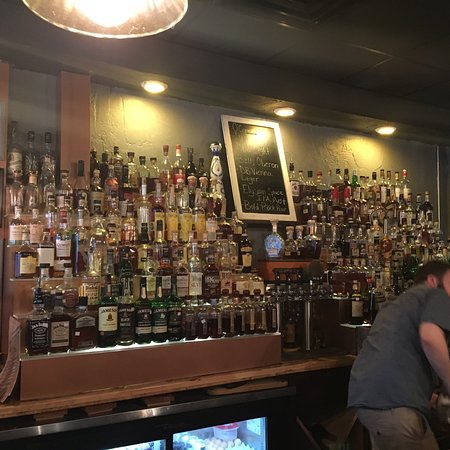 Repeal Bourbons and Burgers: Awesome Bourbon selection.