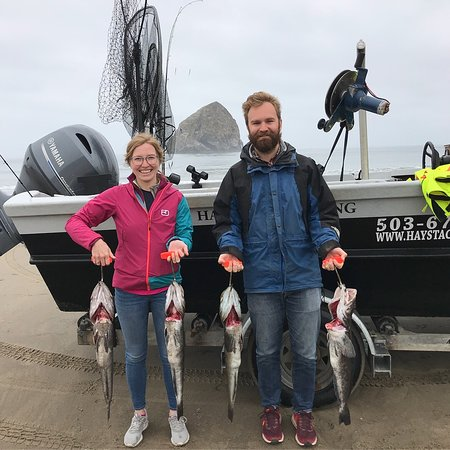 Haystack Fishing: Some of our loot
