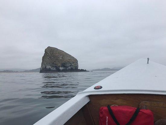 Haystack Fishing: Haystack Rock